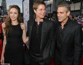 George Clooney sốc khi hay tin Angelina Jolie và Brad Pitt ly dị