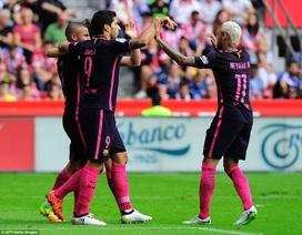 Gijon 0-5 Barcelona: Neymar và Suarez chói sáng