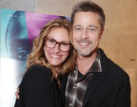 Brad Pitt gầy rộc trong lần xuất hiện đầu tiên kể từ khi ly dị