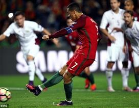 C.Ronaldo lập tuyệt phẩm vô lê, Bồ Đào Nha đại thắng