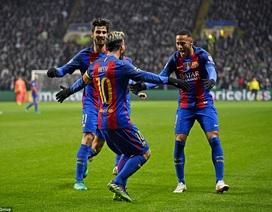 Messi rực sáng trước Celtic, Barcelona cầm chắc ngôi đầu bảng
