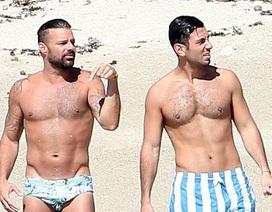 Ricky Martin hạnh phúc bên chồng tương lai