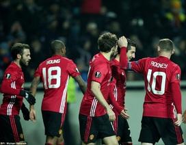 Thắng dễ Zorya, MU giành vé vào vòng knock-out Europa League