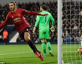 Ibrahimovic lập cú đúp, MU thắng trận thứ ba liên tiếp