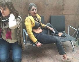 """Lộ diện """"người phụ nữ tro bụi"""" trong vụ khủng bố tại Bỉ"""