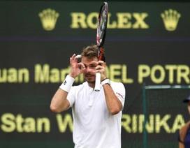 Wawrinka bị loại bởi tay vợt hạng 165 thế giới