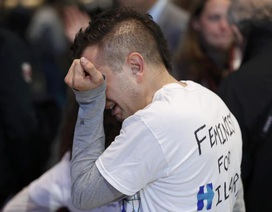Người Mỹ khóc, cười trong ngày bầu cử tổng thống