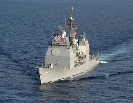 """Mỹ cáo buộc tàu chiến Nga hành động """"thiếu chuyên nghiệp"""""""