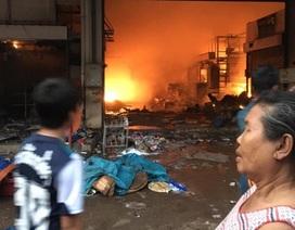 Cháy lớn tại chợ của người Việt tại Lào