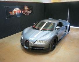Bugatti Veyron hàng nhái giá bằng 3 chiếc Camry đời mới