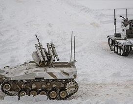 Xem xe tăng robot của Nga trình diễn khả năng chiến đấu