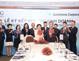 Tập đoàn BRG và Sumitomo ký kết hợp tác kinh doanh