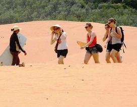 Bươn chải trên đồi cát bay