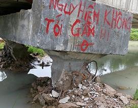 'Mưa lớn xô ngã kênh dẫn nước trăm tỉ' (?!)