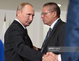Tổng thống Putin lần đầu lên tiếng vụ bộ trưởng kinh tế tham nhũng