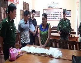 Bắt một phụ nữ chuyển thuê 6 kg ma tuý đá