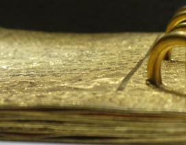 Sách bằng vàng của Triều Nguyễn lần đầu tiên được trưng bày