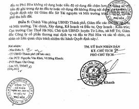Hà Nội: Bị thu hồi đất giao cho doanh nghiệp, người dân khiếu nại yêu cầu làm rõ uẩn khúc