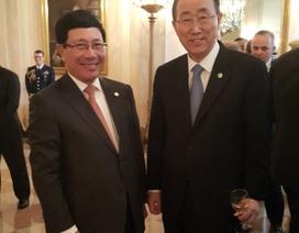 Phó Thủ tướng Phạm Bình Minh dự phiên thảo luận về mối đe dọa an ninh hạt nhân