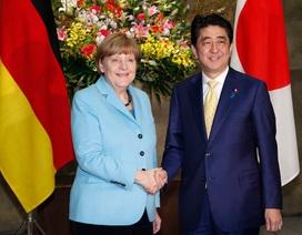 Trong bữa tối với Thủ tướng Đức: Ông Abe khéo từ chối gia nhập NATO