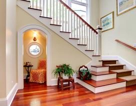 8 cách hay tận dụng khoảng không gian dưới gầm cầu thang