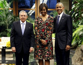 Cuba mở quốc yến chiêu đãi Tổng thống Obama