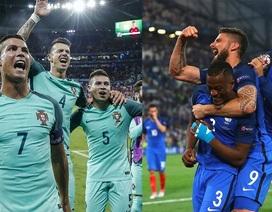 Đường đến chung kết Euro 2016 của Pháp và Bồ Đào Nha