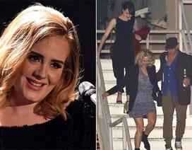 Dàn sao đi xem buổi diễn của Adele