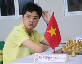 Một tài năng cờ vua Việt Nam được đầu tư tiền tỷ