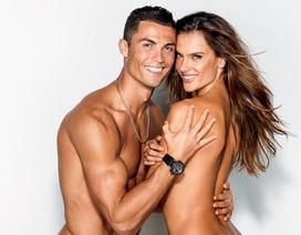 Thiên thần nội y nóng bỏng bên trai đẹp Cristiano Ronaldo