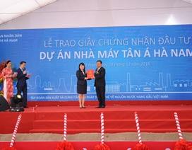 Tân Á Đại Thành khởi công nhà máy thứ 12 tại Hà Nam