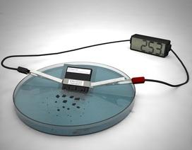 Pin tự tiêu hủy có thể hòa tan trong vòng 30 phút