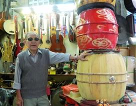 Nghệ nhân già trọn một đời giữ tiếng trống uy nghi từ ngàn xưa