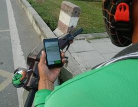 Nỗi lòng xe ôm thời… công nghệ