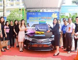 Bảo Việt Nhân thọ tri ân khách hàng bằng xe oto Toyota