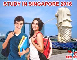 Hội thảo du học Singapore Thực tập hưởng lương và chuyển tiếp Anh, Úc, Mỹ 2016