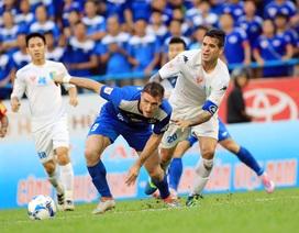 Thắng kịch tính Than Quảng Ninh, Hà Nội T&T tiến sát ngôi vô địch V-League