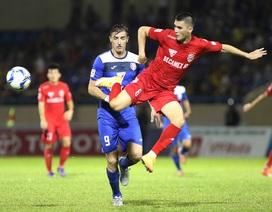 Thắng B.Bình Dương, Than Quảng Ninh lên đứng thứ 4 V-League