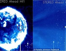 Bí ẩn về quả cầu màu xanh lớn ở phía trước mặt trời