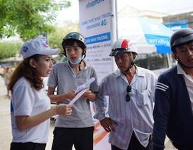 Khách hàng đua nhau đi đổi SIM để trải nghiệm 4G tại Phú Quốc