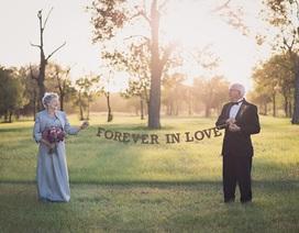 Cặp vợ chồng chờ 70 năm để được chụp ảnh cưới