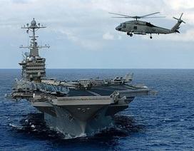 Mỹ triển khai liền lúc 6 cụm tác chiến tàu sân bay