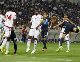 Nhật Bản thua sốc UAE, Hàn Quốc đánh bại Trung Quốc