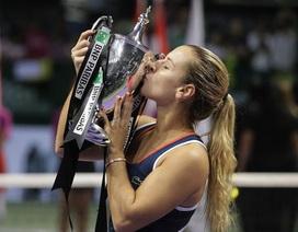 Hạ Kerber, Cibulkova vô địch WTA Finals