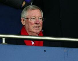 Sir Alex Ferguson buồn rười rượi nhìn MU thua trận