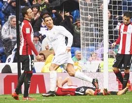 """C.Ronaldo lập cú đúp, Real Madrid """"vượt ải"""" Bilbao"""