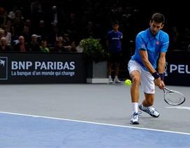 Paris Masters: Djokovic nhọc nhằn, Murray dễ dàng tiến vào tứ kết