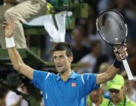 Djokovic khởi đầu thuận lợi, Federer bỏ Miami Open