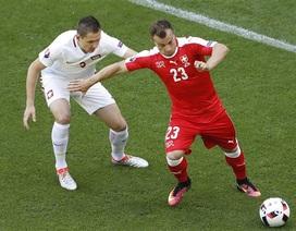 Ba Lan 1-1 Thụy Sĩ (5-4 penalty): Tội đồ Xhaka