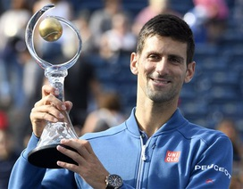 Đánh bại Nishikori, Djokovic vô địch Rogers Cup